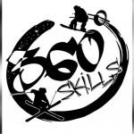 Logo 360 SKILLS asd